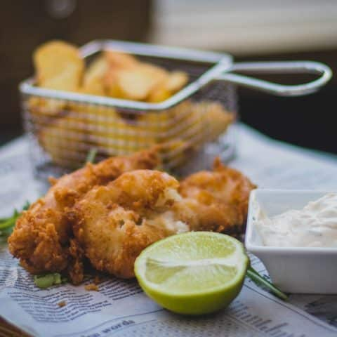 fish and chips l'hoirie